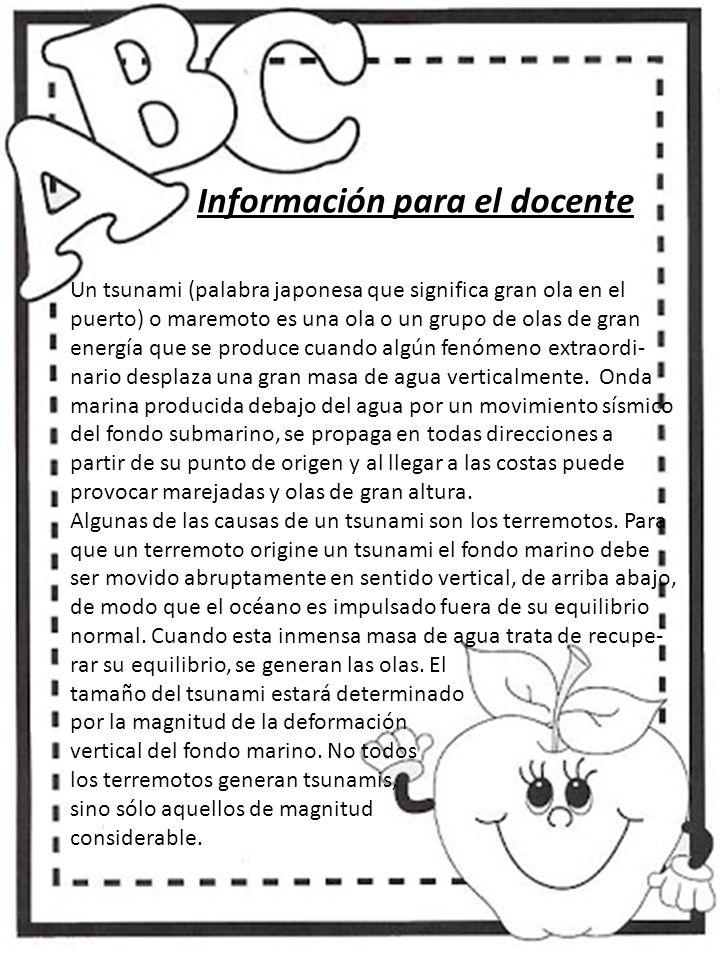 Información para el docente