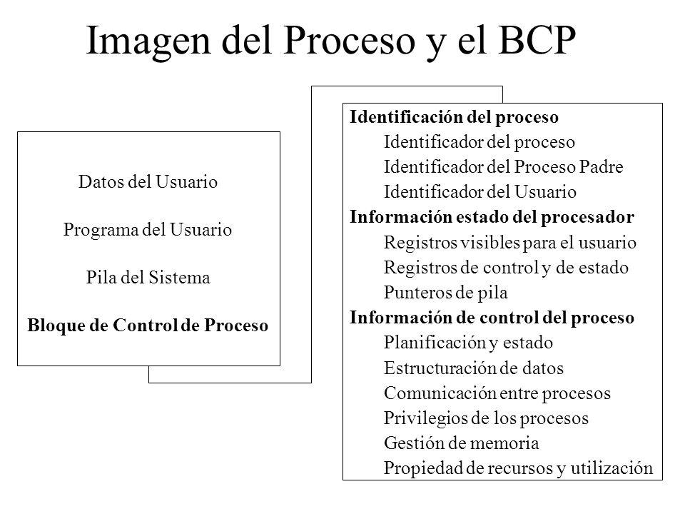 Imagen del Proceso y el BCP