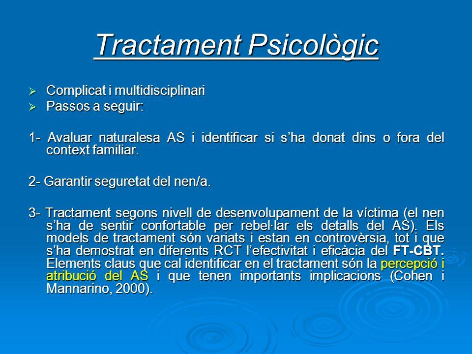 Tractament Psicològic