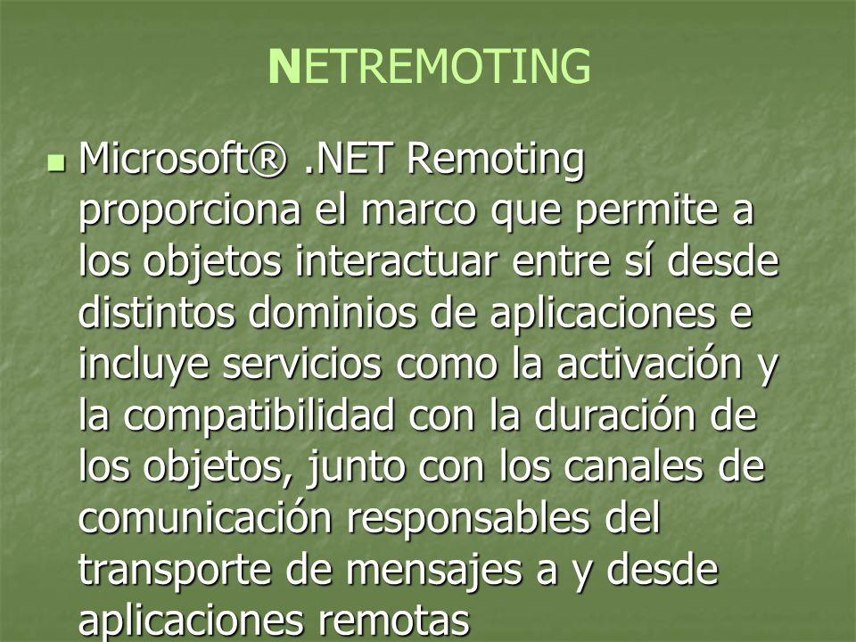 NETREMOTING