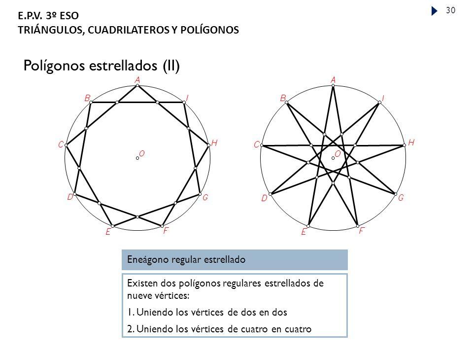 Polígonos estrellados (II)