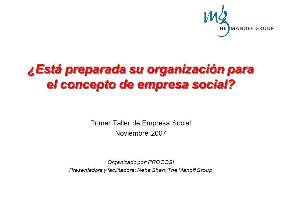 ¿Está preparada su organización para el concepto de empresa social