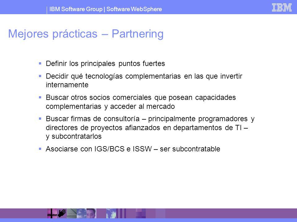 Mejores prácticas – Partnering