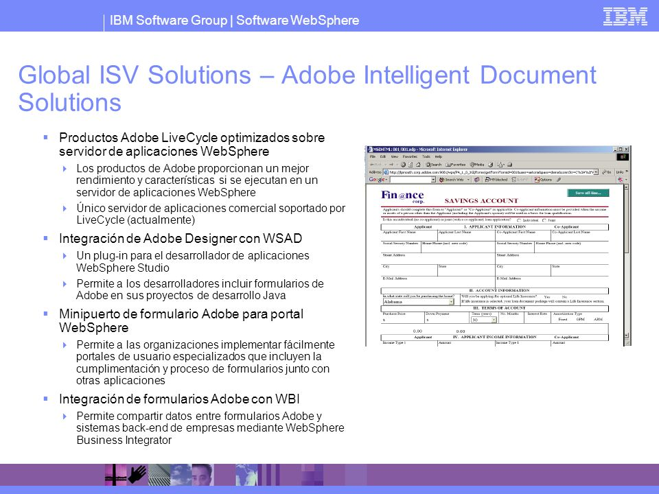 Global ISV Solutions – Adobe Intelligent Document Solutions