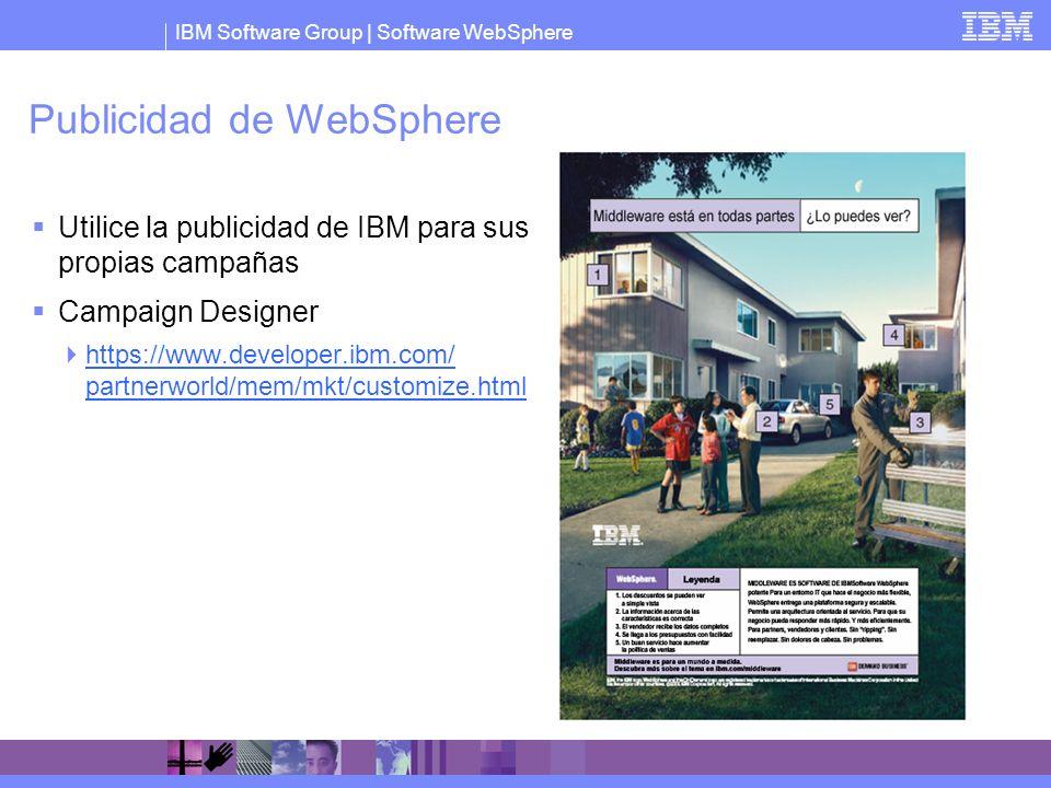 Publicidad de WebSphere