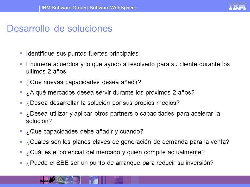 Desarrollo de soluciones