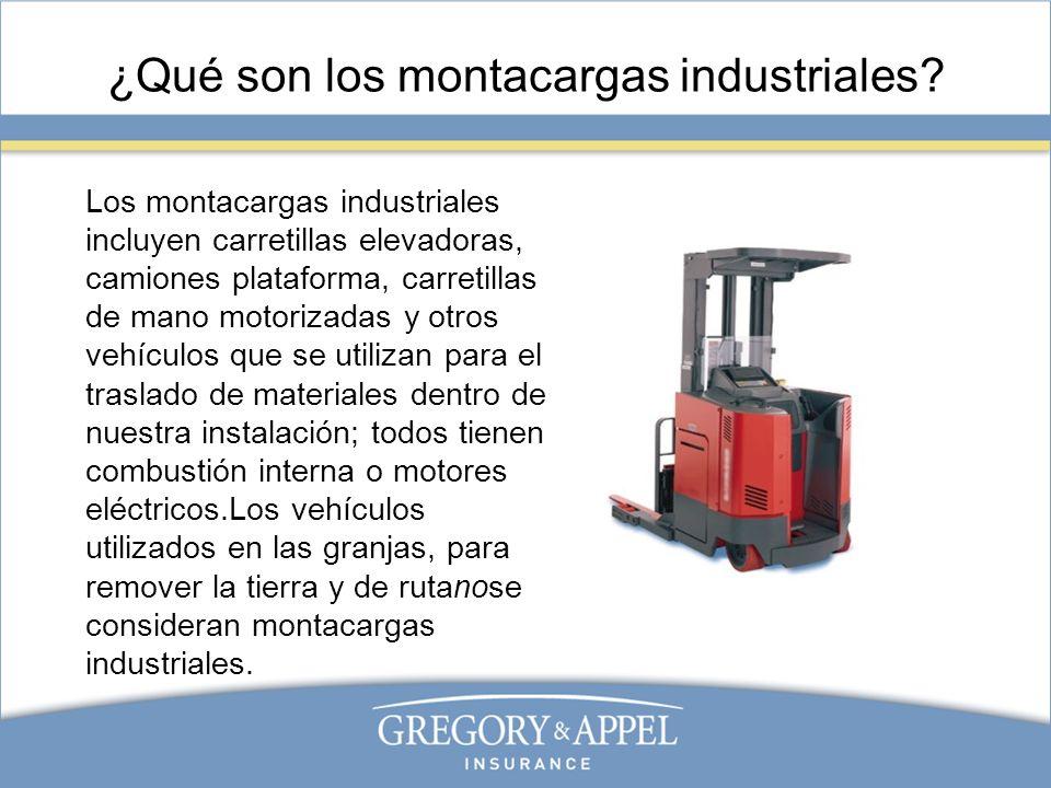 ¿Qué son los montacargas industriales