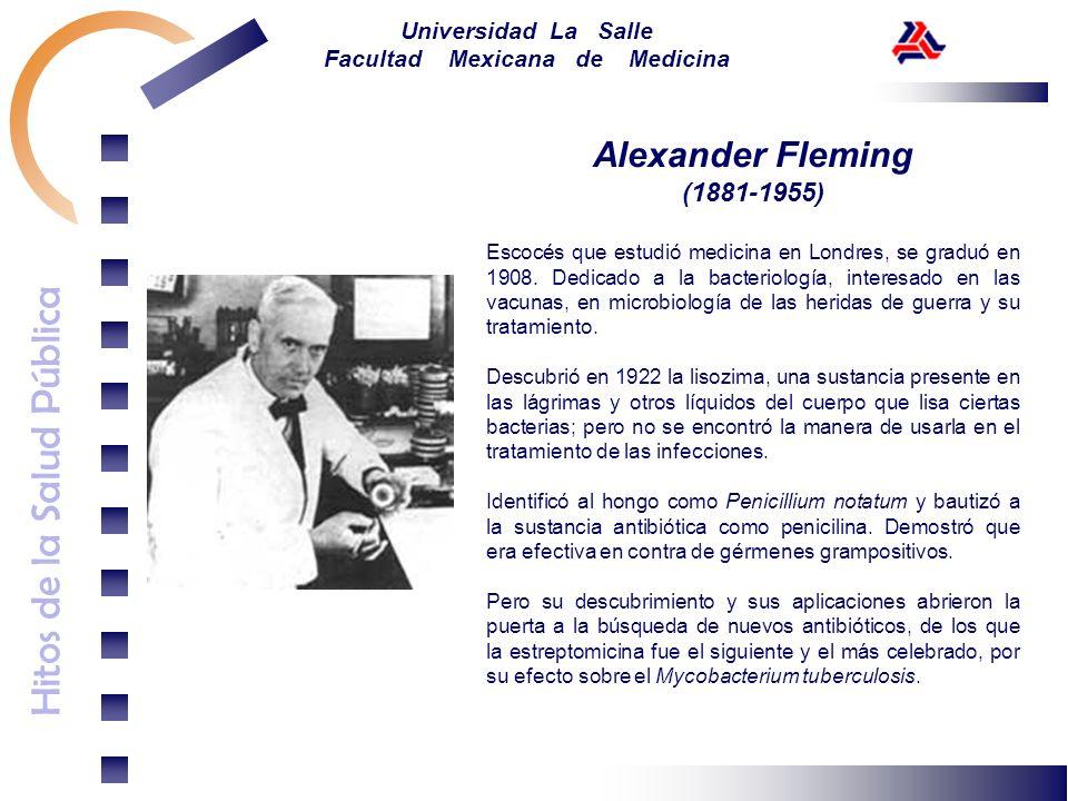 Alexander Fleming(1881-1955)