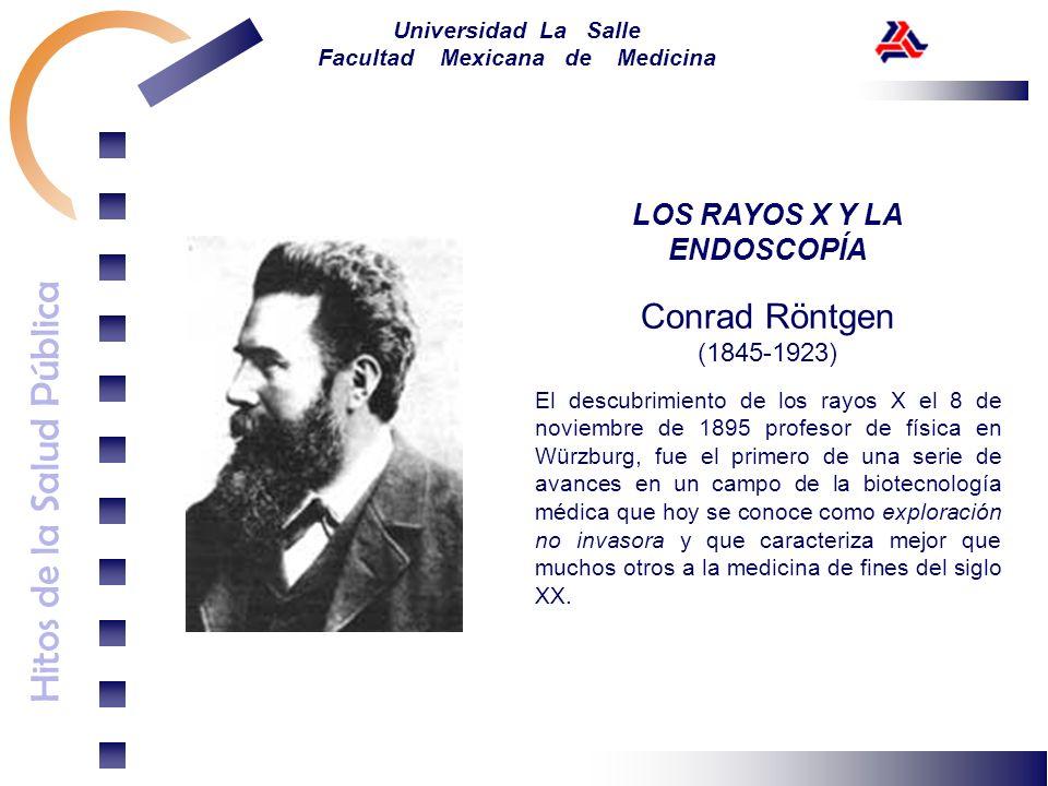 LOS RAYOS X Y LA ENDOSCOPÍA