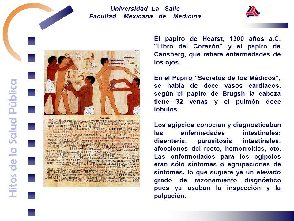 El papiro de Hearst, 1300 años a. C