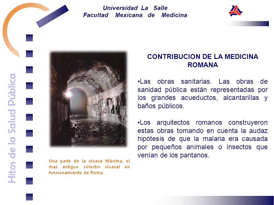 CONTRIBUCION DE LA MEDICINA ROMANA