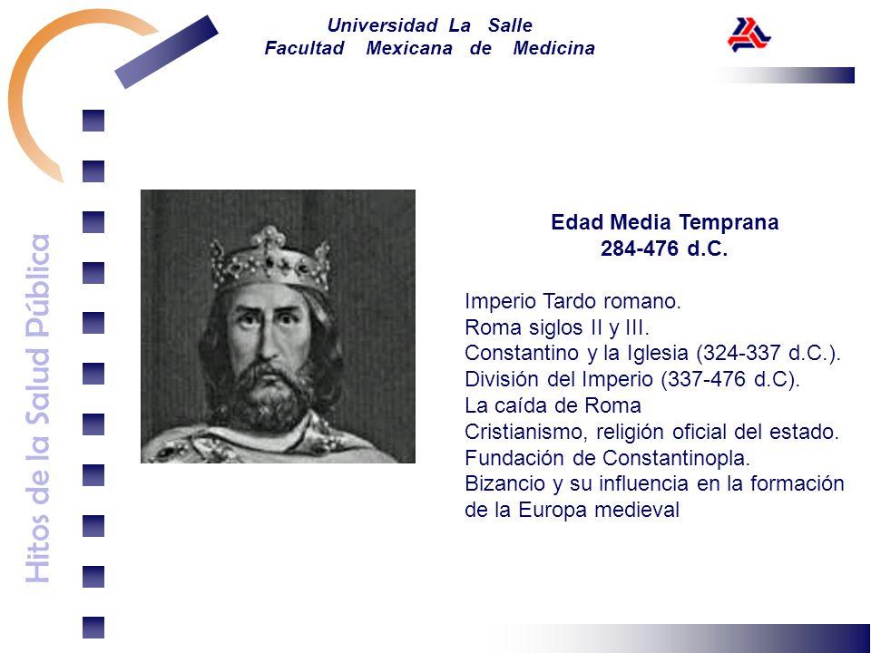 Edad Media Temprana284-476 d.C. Imperio Tardo romano. Roma siglos II y III. Constantino y la Iglesia (324-337 d.C.).