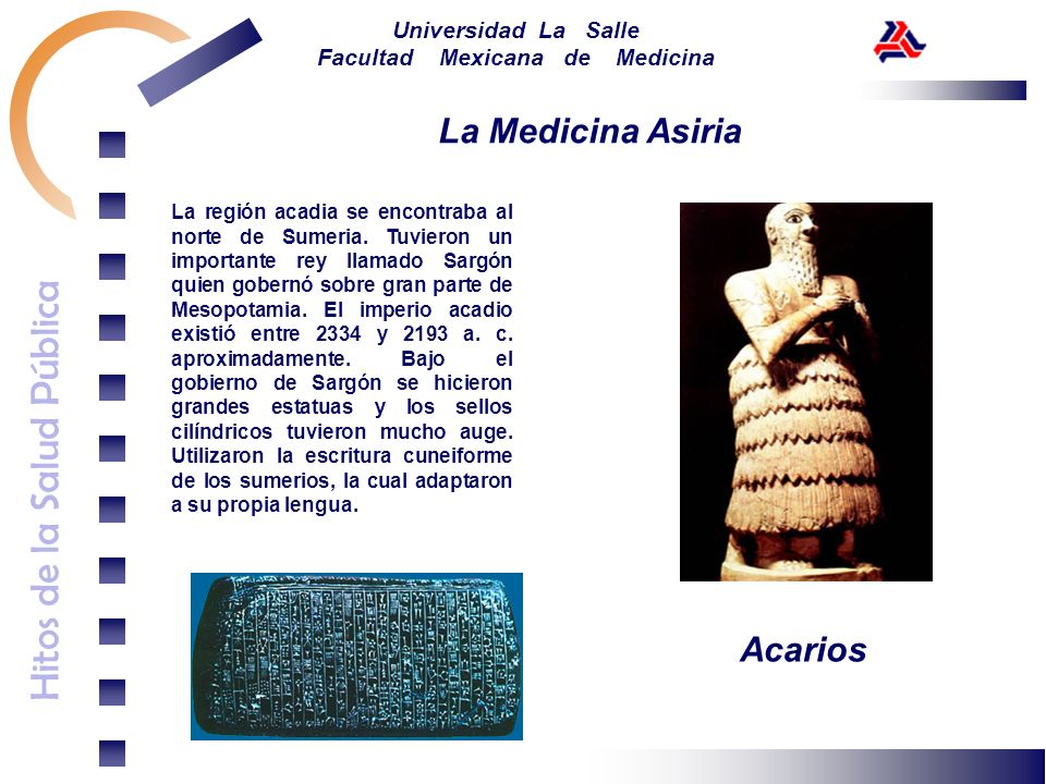 La Medicina Asiria Acarios