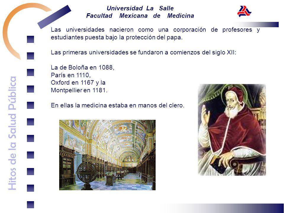 Las universidades nacieron como una corporación de profesores y estudiantes puesta bajo la protección del papa.