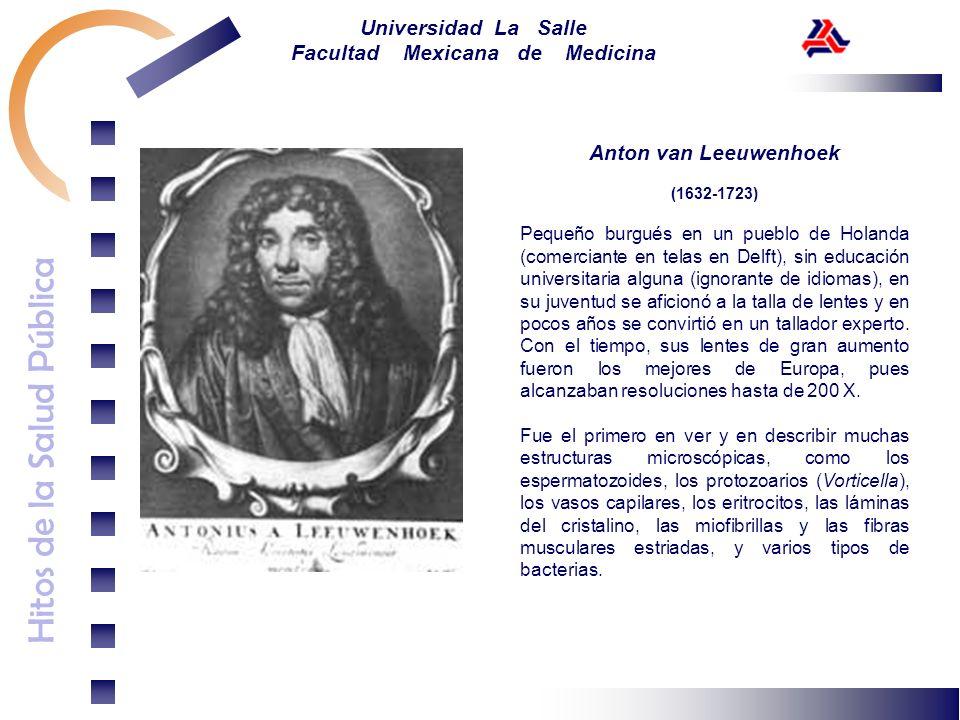 Anton van Leeuwenhoek(1632-1723)