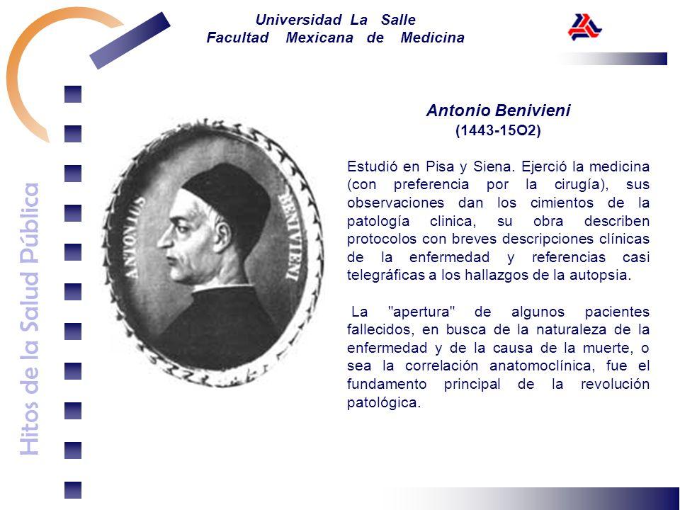Antonio Benivieni (1443-15O2)