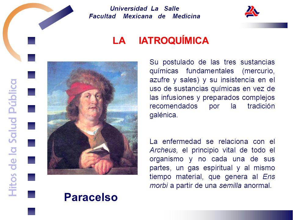 Paracelso LA IATROQUÍMICA