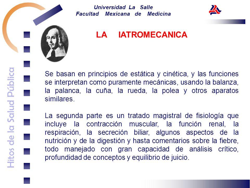 LA IATROMECANICA