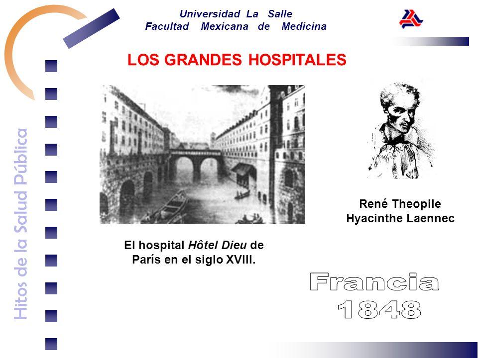 René Theopile Hyacinthe Laennec El hospital Hôtel Dieu de