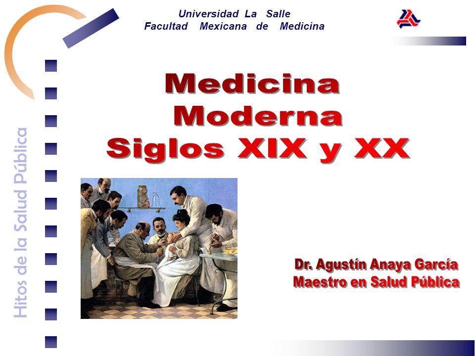 Dr. Agustín Anaya García Maestro en Salud Pública