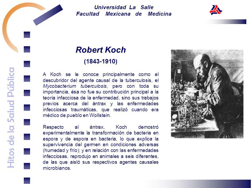 Robert Koch(1843-1910)