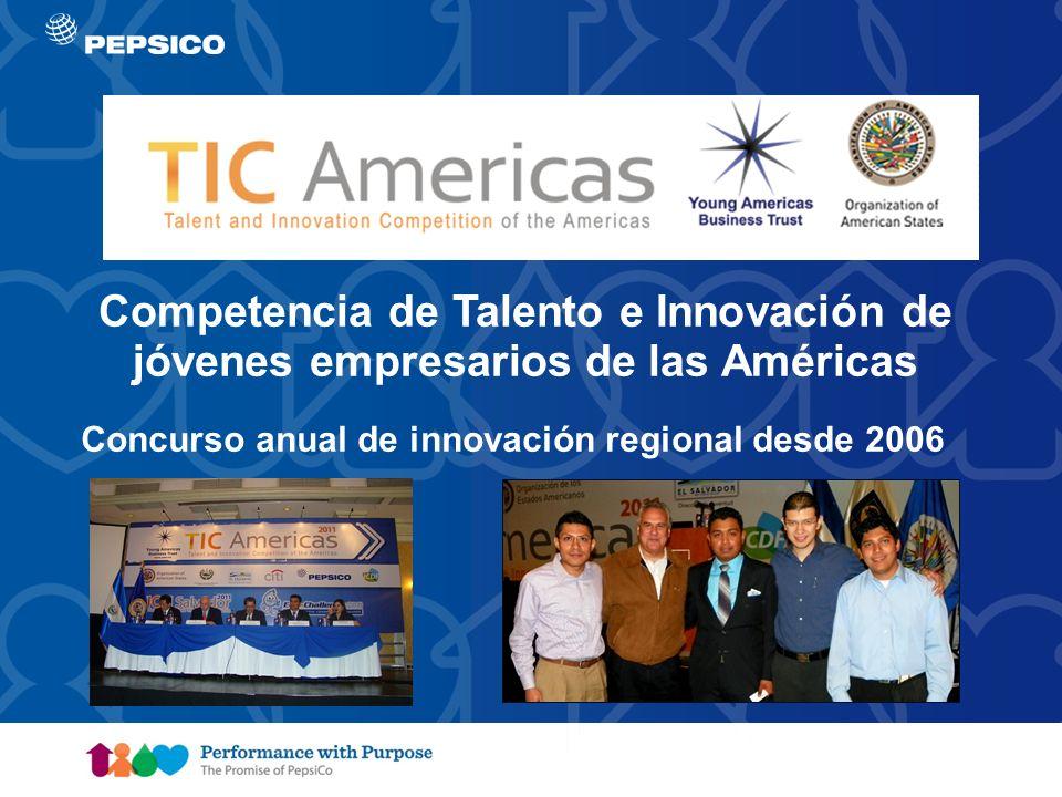 Competencia de Talento e Innovación de jóvenes empresarios de las Américas
