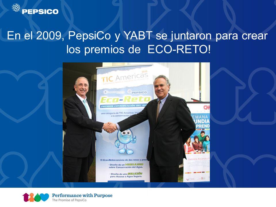 En el 2009, PepsiCo y YABT se juntaron para crear