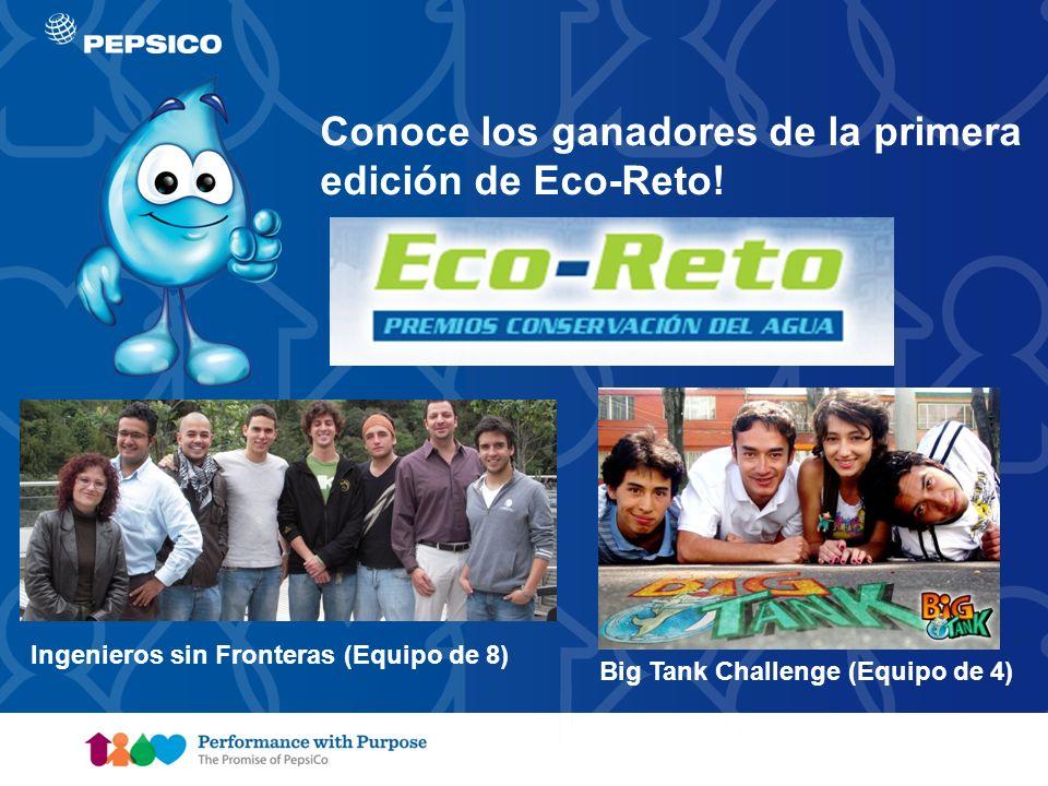 Conoce los ganadores de la primera edición de Eco-Reto!