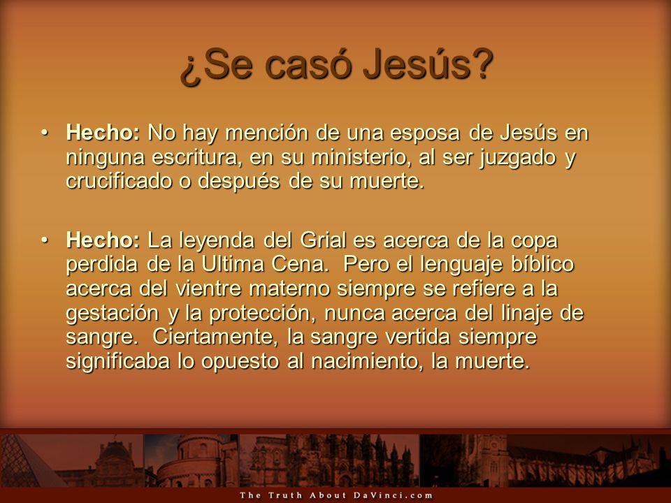 ¿Se casó Jesús