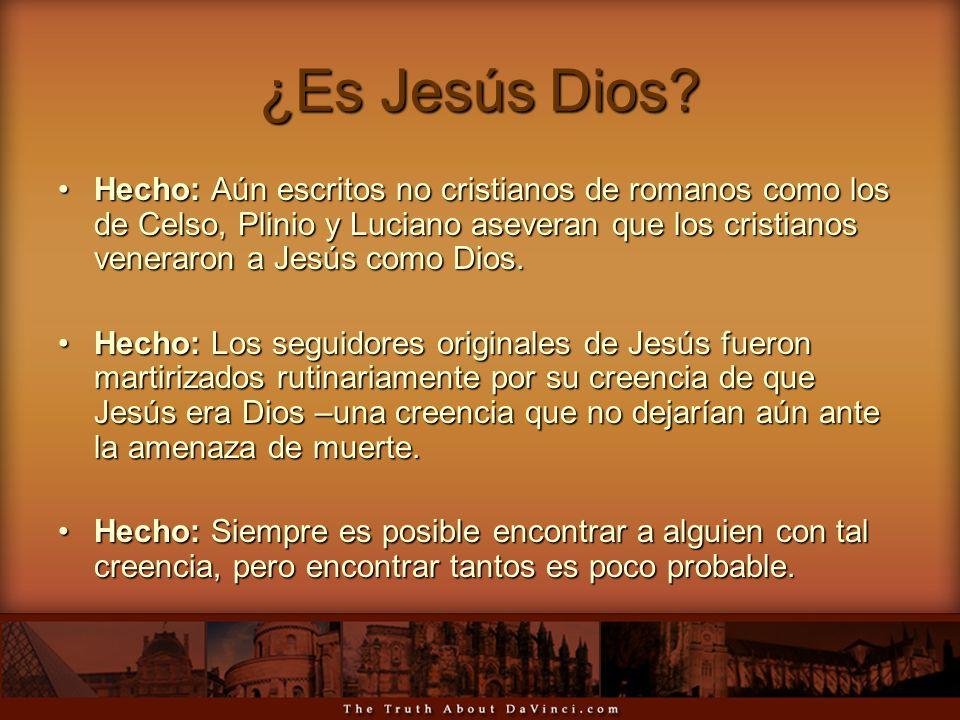 ¿Es Jesús Dios