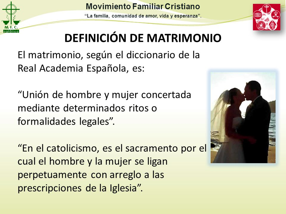Matrimonio Definicion : Servicio institucional ppt descargar