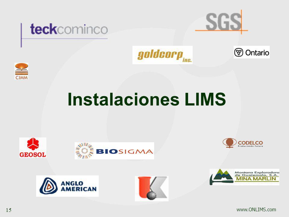 Instalaciones LIMS