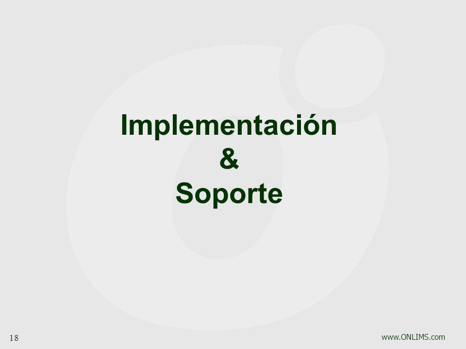 Implementación & Soporte