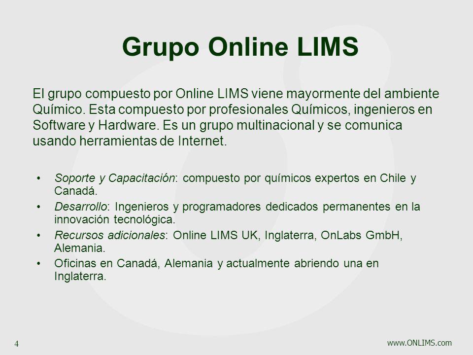 Grupo Online LIMS