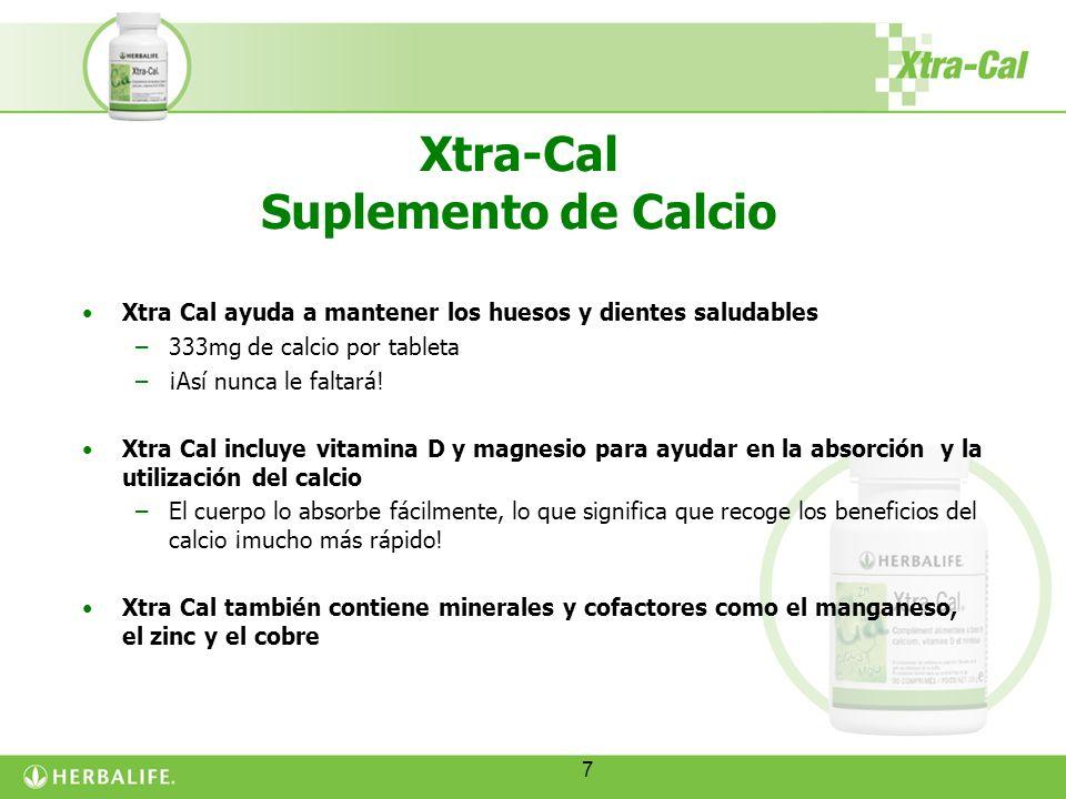 Xtra-Cal Suplemento de Calcio