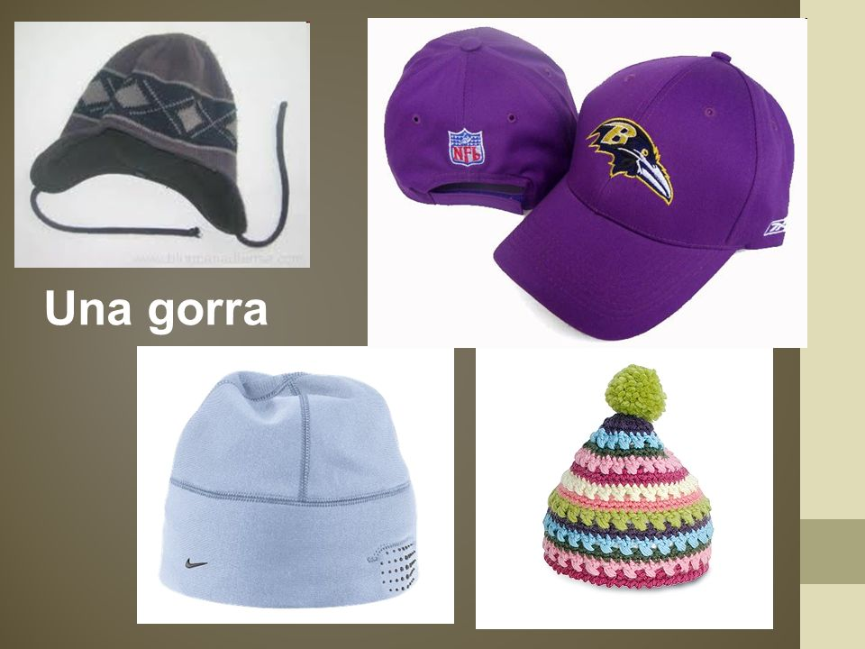 Una gorra