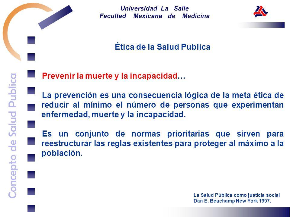 Ética de la Salud Publica