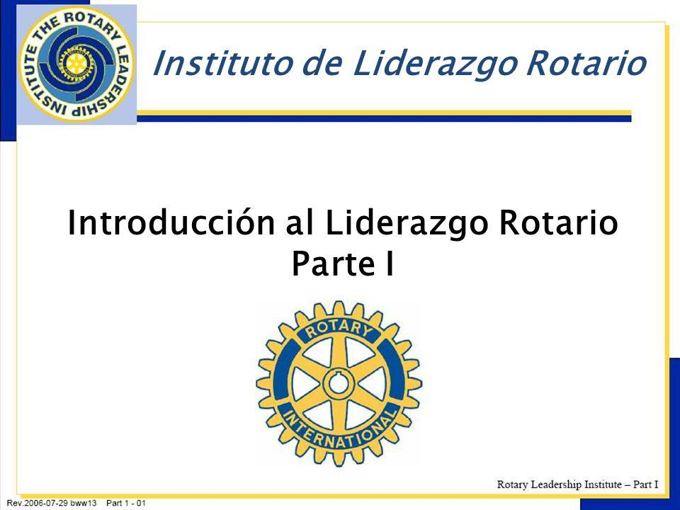 Introducción al Liderazgo Rotario