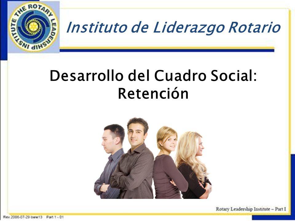 Desarrollo del Cuadro Social: Retención