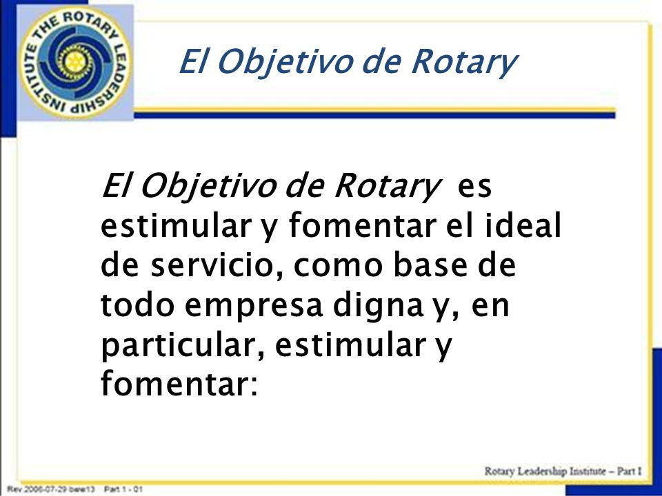 El Objetivo de Rotary