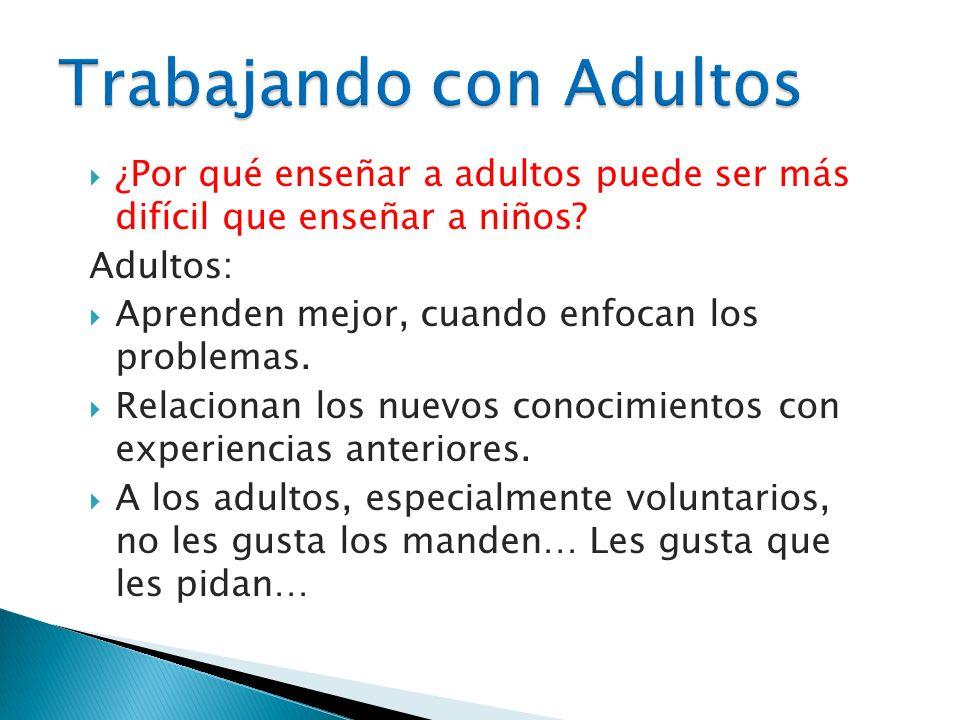 Trabajando con Adultos