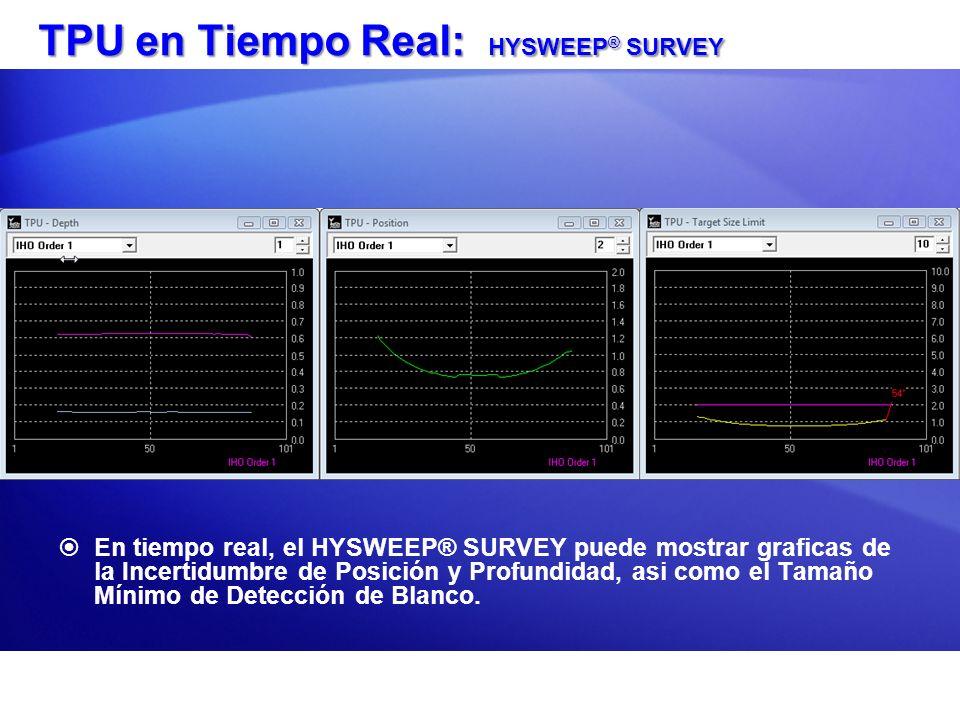 TPU en Tiempo Real: HYSWEEP® SURVEY