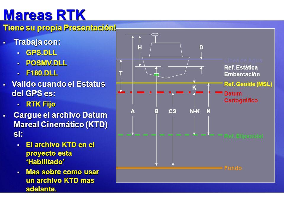 Mareas RTK Tiene su propia Presentación!