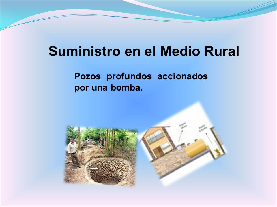 Suministro en el Medio Rural