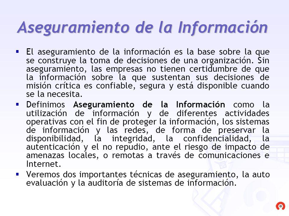 Aseguramiento de la Información