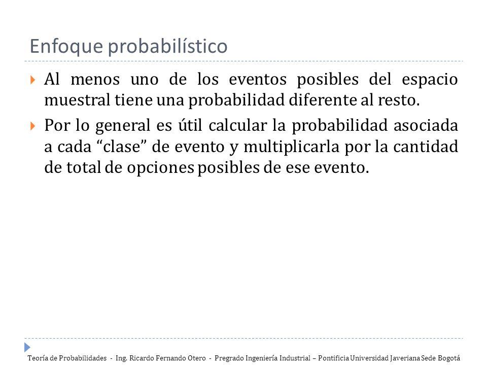 Enfoque probabilístico