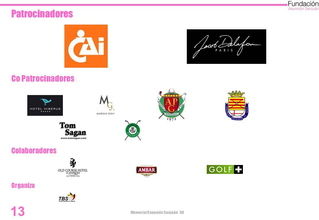Patrocinadores Co Patrocinadores Colaboradores Organiza