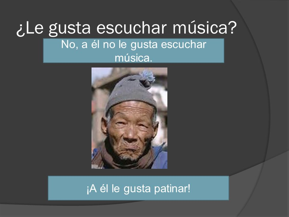¿Le gusta escuchar música