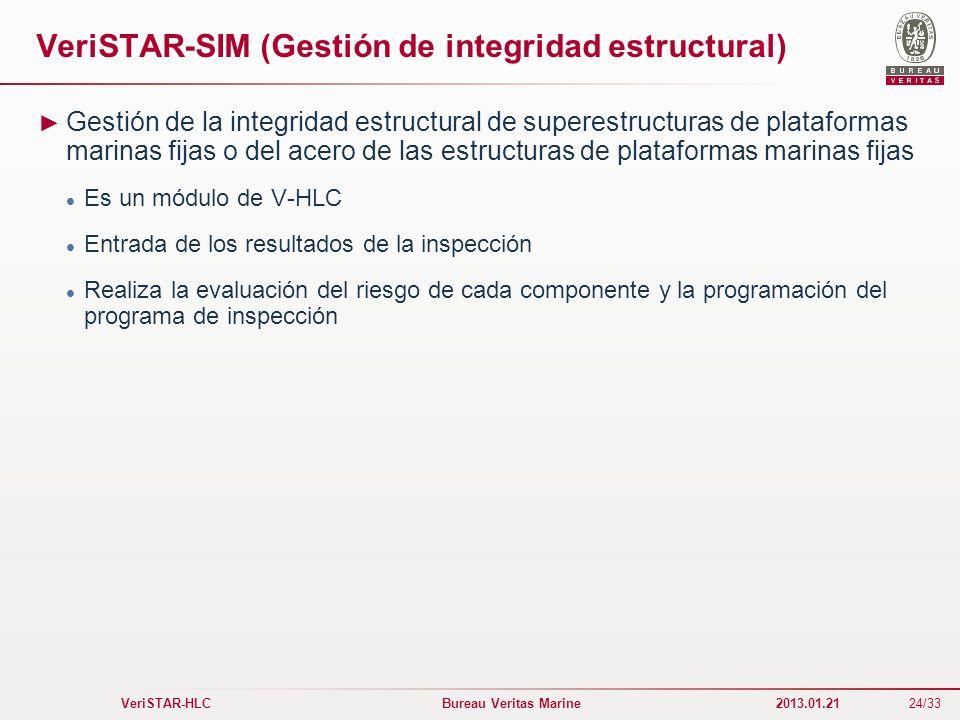 VeriSTAR-SIM (Gestión de integridad estructural)