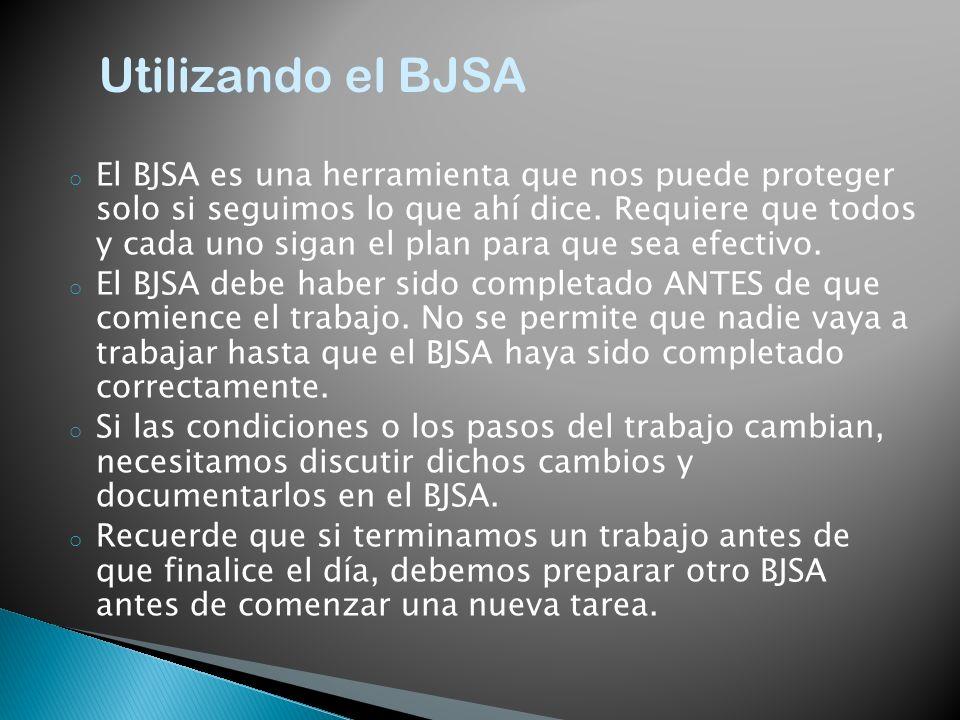 Utilizando el BJSA